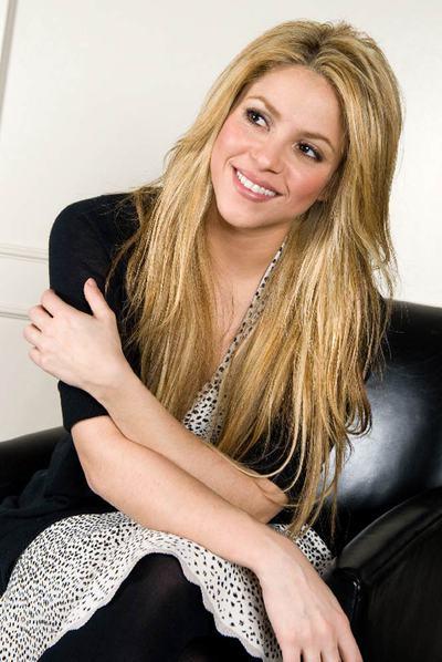 Shakira posa en Nueva York en octubre de 2009