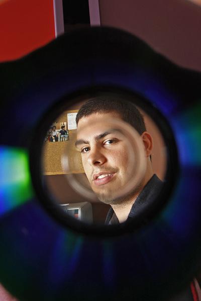 El  hacker  Edgar Carrillo en la actualidad, con 20 años.
