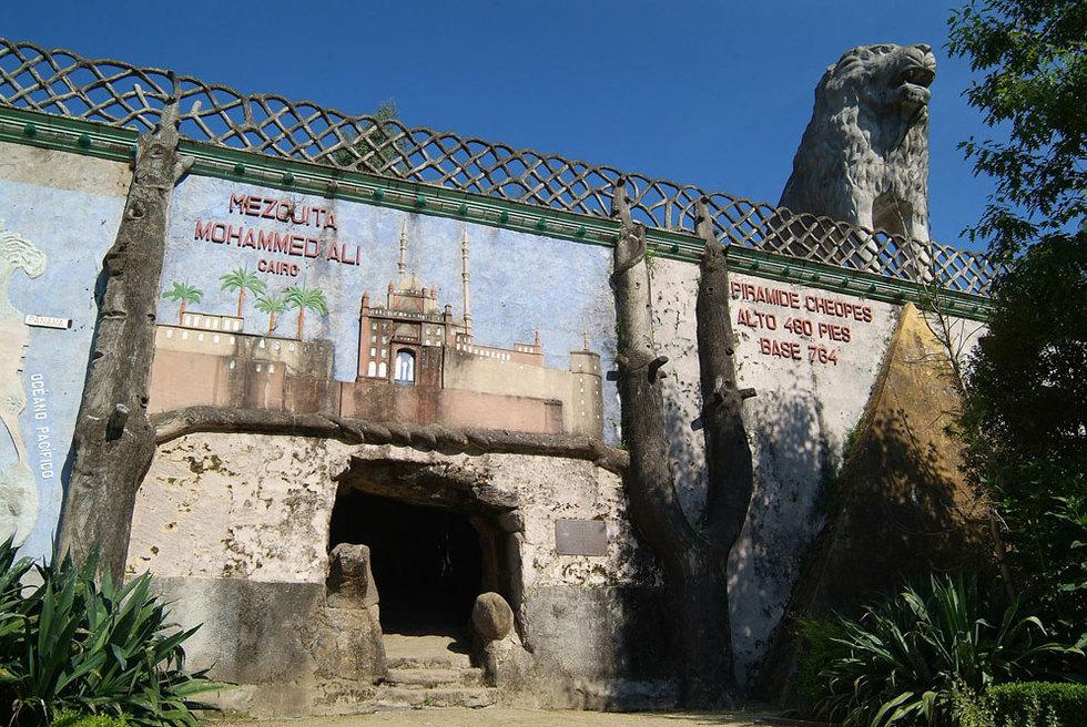 El Parque do Pasatempo, en Betanzos, basado en las ideas que Rogelio Borondo recogió de su viaje por Europa.