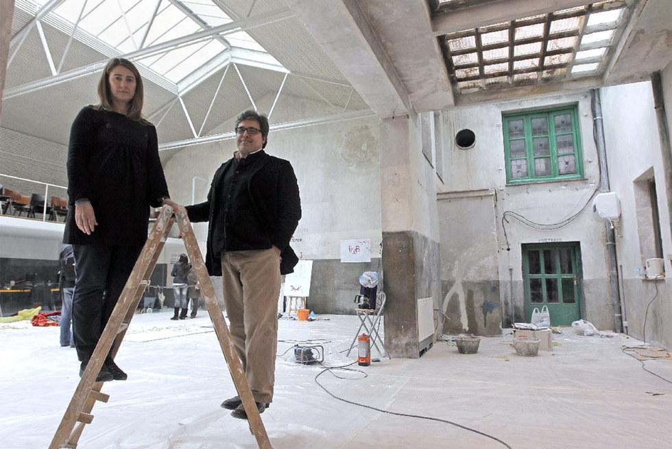 Josemar a de churtichaga arquitecto y su socia cayetana - Trabajo de arquitecto en madrid ...