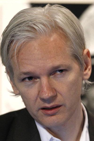 Julian Assange, fundador de Wikileaks, el 26 de julio en Londres.