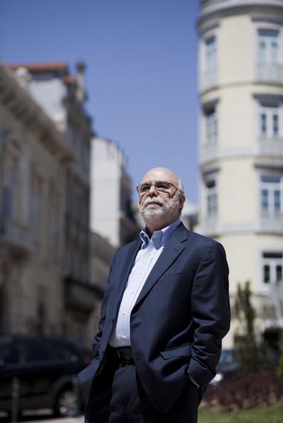 Rosental C. Alves, en las calles de Lisboa.