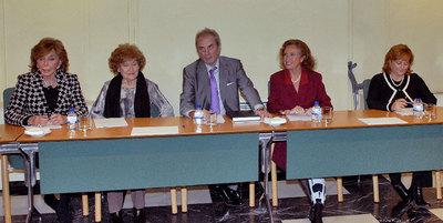 Jesús Neira en la primera reunión como presidente del Consejo Asesor del Observatorio de Violencia de Género de la Comunidad de Madrid.