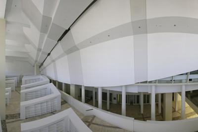 La Biblioteca y el Archivo de Galicia serán los primeros edificios que se abrirán en la Ciudad de la Cultura de Santiago de Compostela.