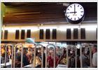 La huelga paraliza dos horas los ferrocarriles catalanes