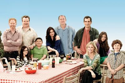 En la comedia, las disfuncionalidades son sarnosas, como en la serie 'Modern family'