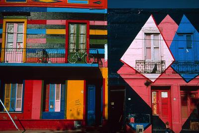 Una imagen de El Caminito, en el barrio bonaerense de La Boca.