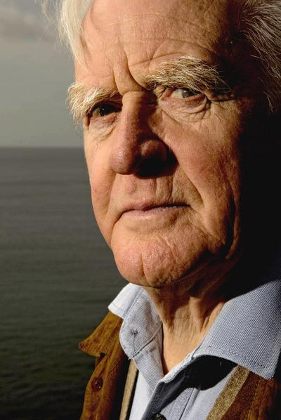 El escritor John Le Carré.