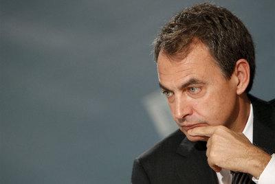 José Luis Rodríguez Zapatero, durante la entrevista que concedió ayer a Radio Nacional de España.