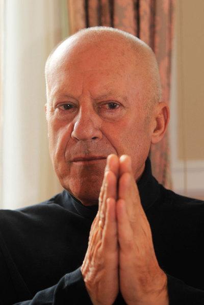 Norman Foster, retratado la semana pasada en San Sebastián.
