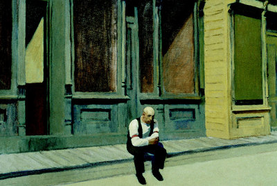 Domingo,  de Edward Hopper.
