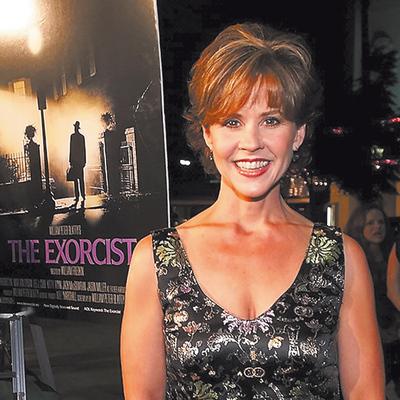 La actriz Linda Blair en la actualidad
