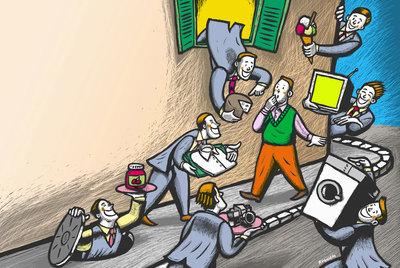 Los vendedores tradicionales cansan al cliente por su insistencia y su agresividad.