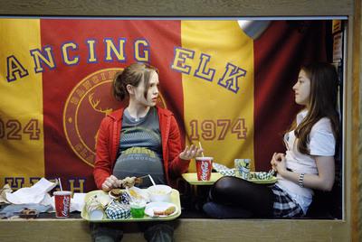 Ellen Page es la protagonista de  Juno , de Jason Reitman, filme sobre la vida de una menor que se queda embarazada.