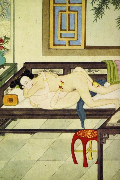 Ilustración del clásico chino, El erudito de las carcajadas. Jin Ping Mei  (Atalanta), que incluye los grabados originales y otros posteriores en color.