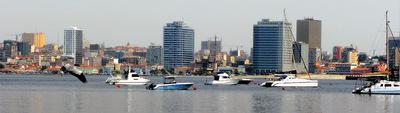 FOTOGALERIA: 'Skyline' desde el Atlántico