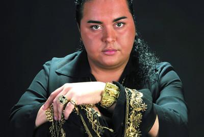 Falete, cantaor de flamenco, cuya  madre aportó a  un programa de televisión un vídeo de los encuentros sexuales de su hijo.