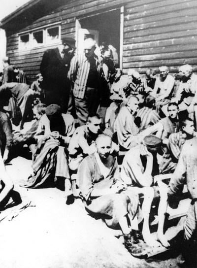 Imagen del barracón hospital de Mauthausen, donde supuestamente estuvo el médico de las SS Aribert Heim en el año 1941.