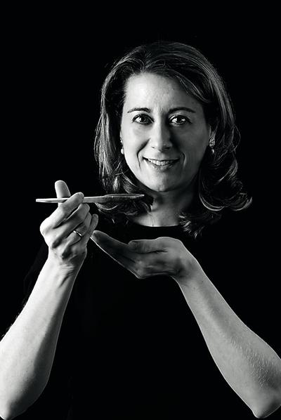 Susana Pérez, responsable junto a su marido, Jesús Cerezo, de WEBOS FRITOS, blog ganador del premio a mejor sitio 2010 según Bitátocas.com.