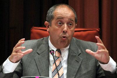 Felipe Puig, en su comparecencia en la comisión del caso del Palau de la Música, el pasado julio.