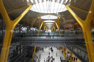 Terminal 4 del aeropuerto madrileño de Barajas.