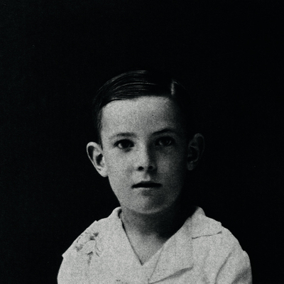 Retrato de Víctor García de la Concha, en su infancia