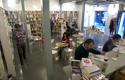 La librería Tipos Infames, en la calle San Joaquín.