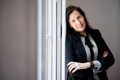 Montserrat Neira, licenciada en Políticas y prostituta, que dará una charla en Lugo a estudiantes de sociología y antropología.