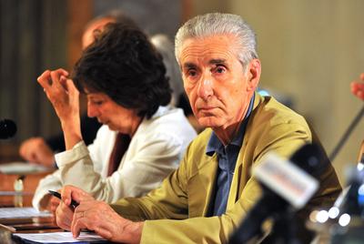 Stefano Rodotà preside una reunión, en Bolonia, en junio de este año