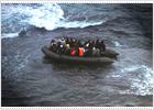 54 vidas frágiles a expensas del mar