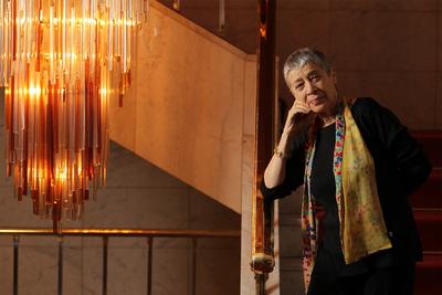 Gabriela Shalev cambió la tranquilidad de su casa en Israel por los rascacielos de Manhattan.