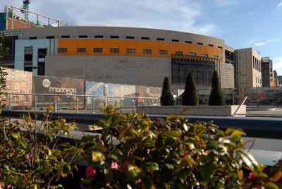 Fachada del centro comercial Marineda Plaza, en A Coruña.