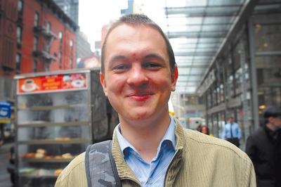 Andrey Ternovskiy, el creador de Chatroulette, el último  peepshow  global. Un fenómeno que se ha ido diluyendo durante el año.
