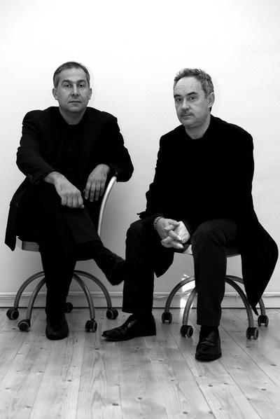 Enrique Ruiz-Geli y Ferran Adrià.