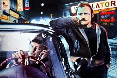 Dennis Hopper y Bruno Ganz en una imagen de  El amigo americano  (1977), de Wim Wenders.