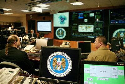 Una sala operativa de la Agencia Nacional de Seguridad, en Fort Meade, Maryland.