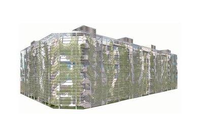 El edificio Almonte 17-27 en el Ensanche de Vallecas, según el proyecto del arquitecto chileno Germán Del Sol