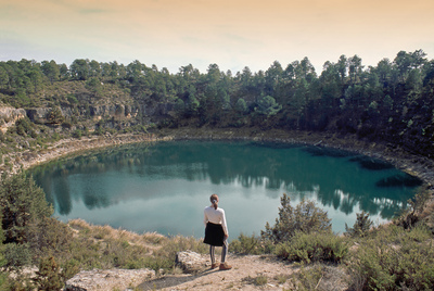 La Gitana, una de las siete lagunas (o torcas inundadas) de la Cañada del Hoyo, en la Serranía Baja de Cuenca.