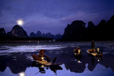 Las montañas de Guilin, al suroeste de China, en la región de
