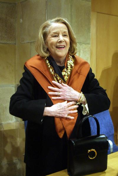 María Mercader, en 2002.