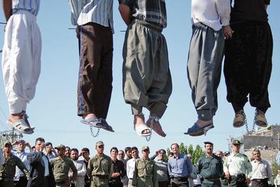 Ejecución en Irán.