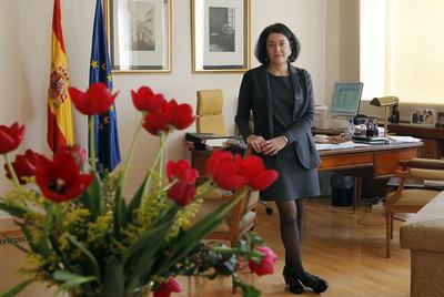Anna Terrón, en su despacho.