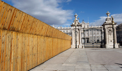 FOTOGALERIA: Sorpresas tras la valla