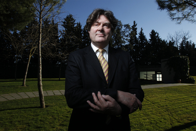 Colin Tweedy, el pasado jueves en la sede madrileña del IESE de la Universidad de Navarra.