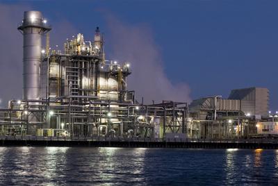 La refinería de ExxonMobil en el complejo de la compañía en Baytown (Tejas, Estados Unidos).