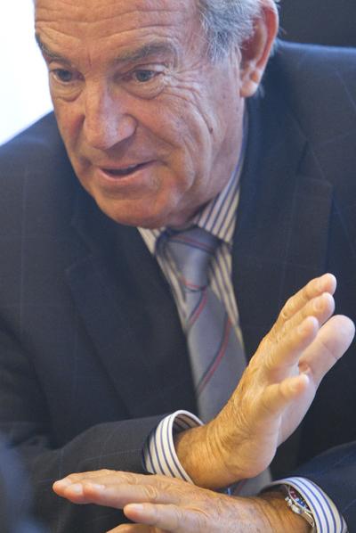Carlos Garaikoetxea, en septiembre del año pasado.