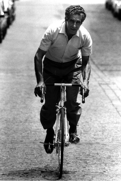 Federico Bahamontes con casi 70 años.