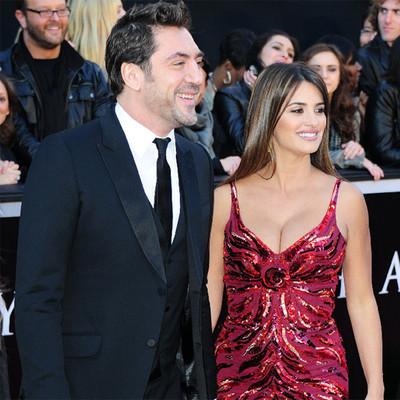 Javier Bardem y Penélope Cruz, en la alfombra roja.