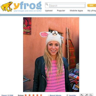 Shakira en Twitter