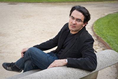 El escritor bogotano afincado en Barcelona Juan Gabriel Vásquez, ayer en la Villa Olímpica.